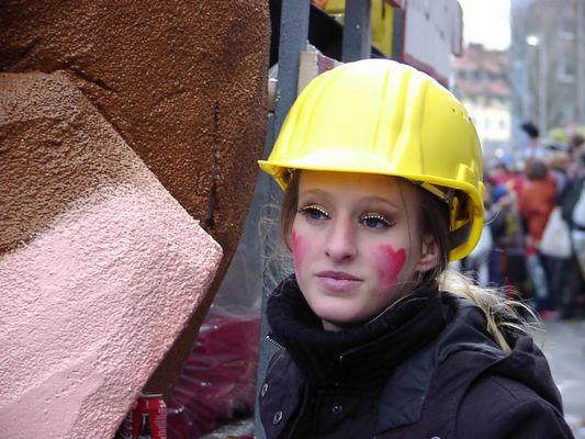 Die Dame vom Bau - Karneval