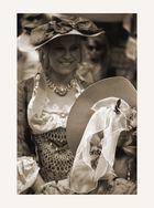 die Damen mit Hut