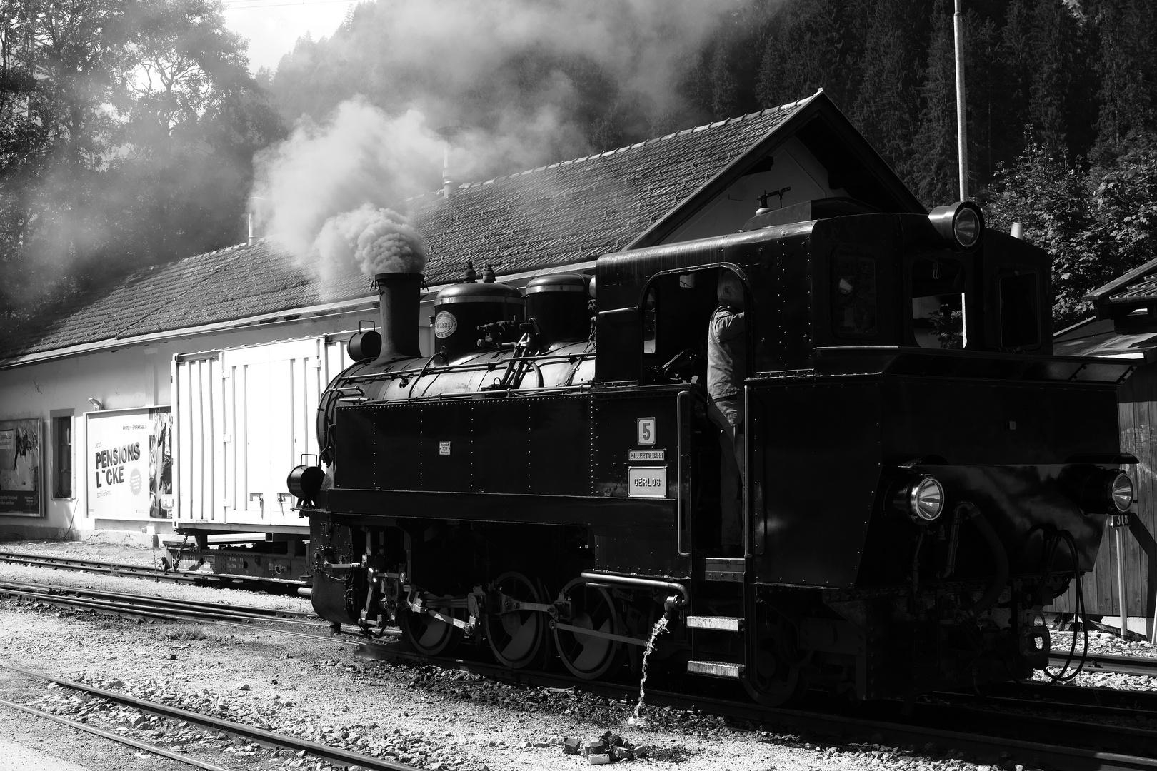 """Die Dampflokomotive Nr. 5 """"Gerlos"""""""