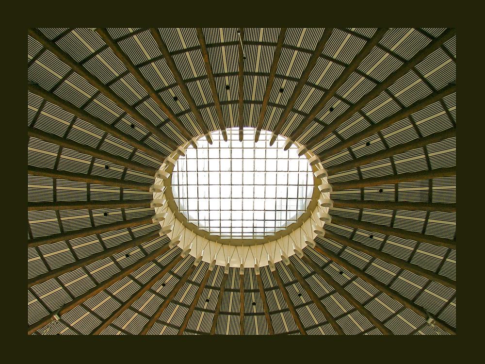 Die Decke der Paulskirche
