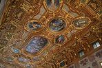 Die Decke des Goldenen Saals im Augsburger Rathaus