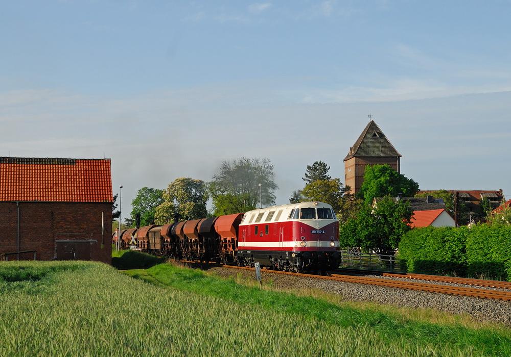 die Dicke Babelsbergerin im Thüringer Becken unterwegs