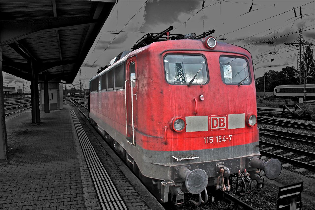Die Dienst älteste Lokomotive der DB (seit: 20.Feb.1957)