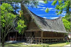 Die Dörfer der Batak-Sumatra