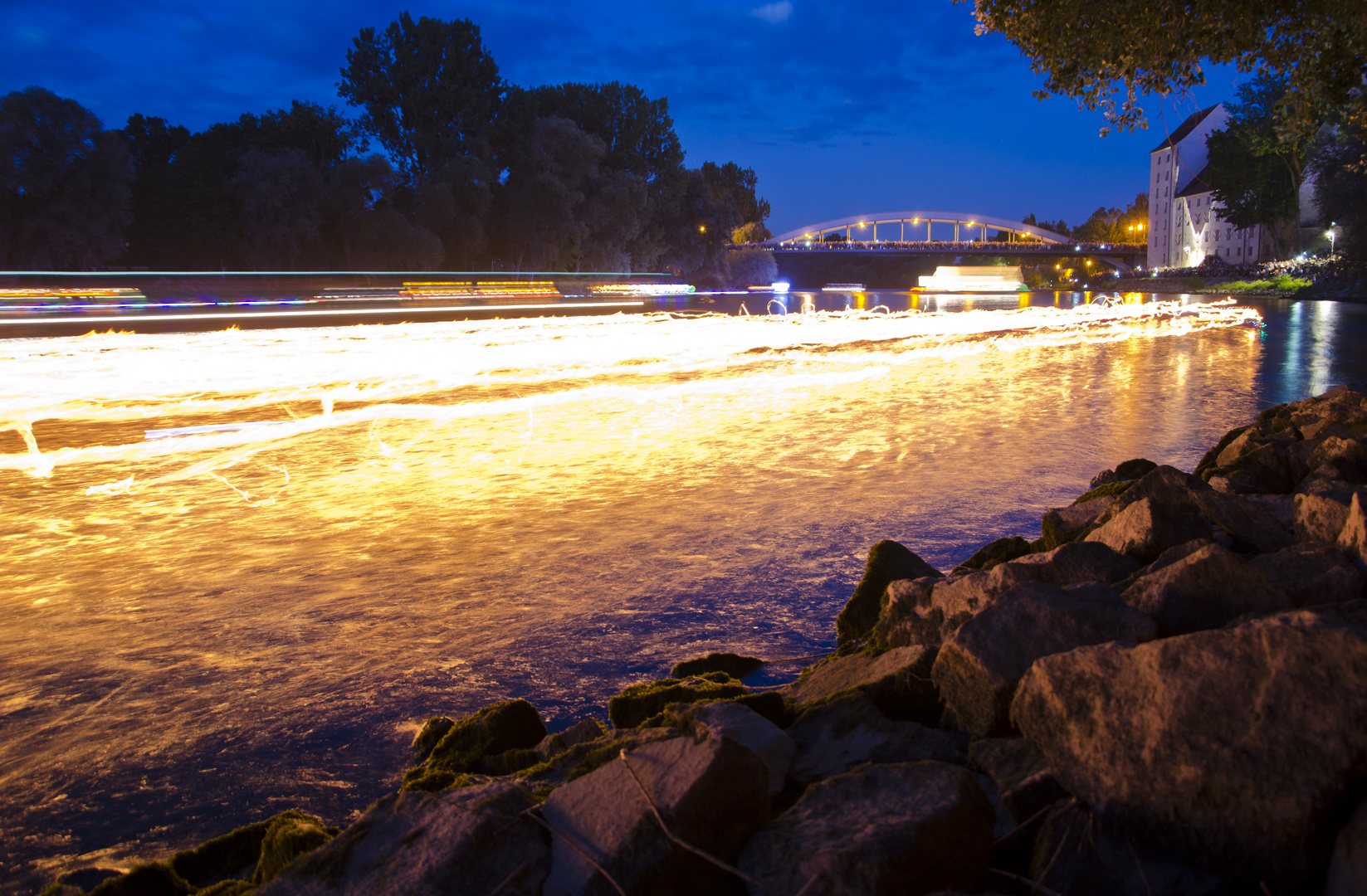 Die Donau brennt...