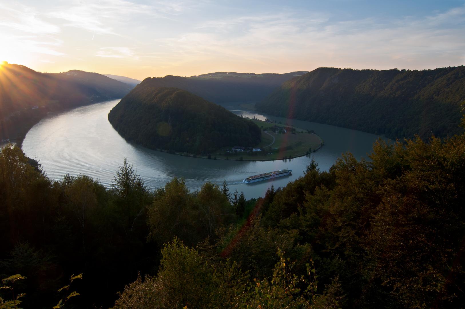 Die Donauschlinge bei Schlögen