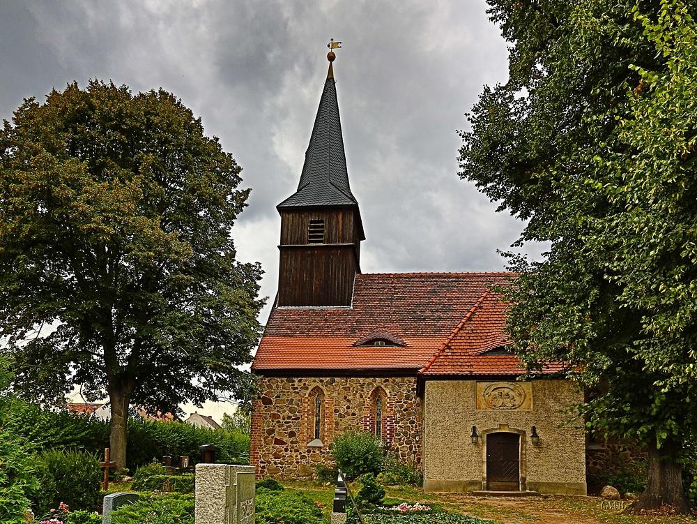 Die Dorfkirche Blankenfelde