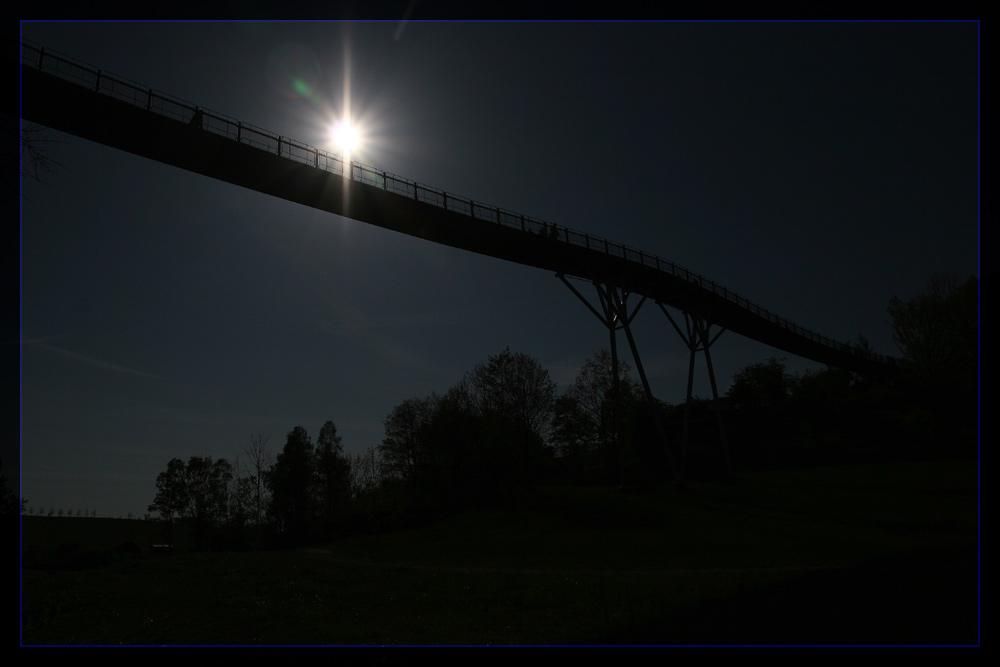 Die Drachenbrücke auf der BUGA