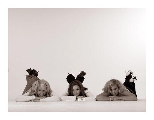 Die drei Mädels ...