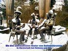 Die drei unermüdlichen Skater vom Datterichbrunnen in Darmstadt