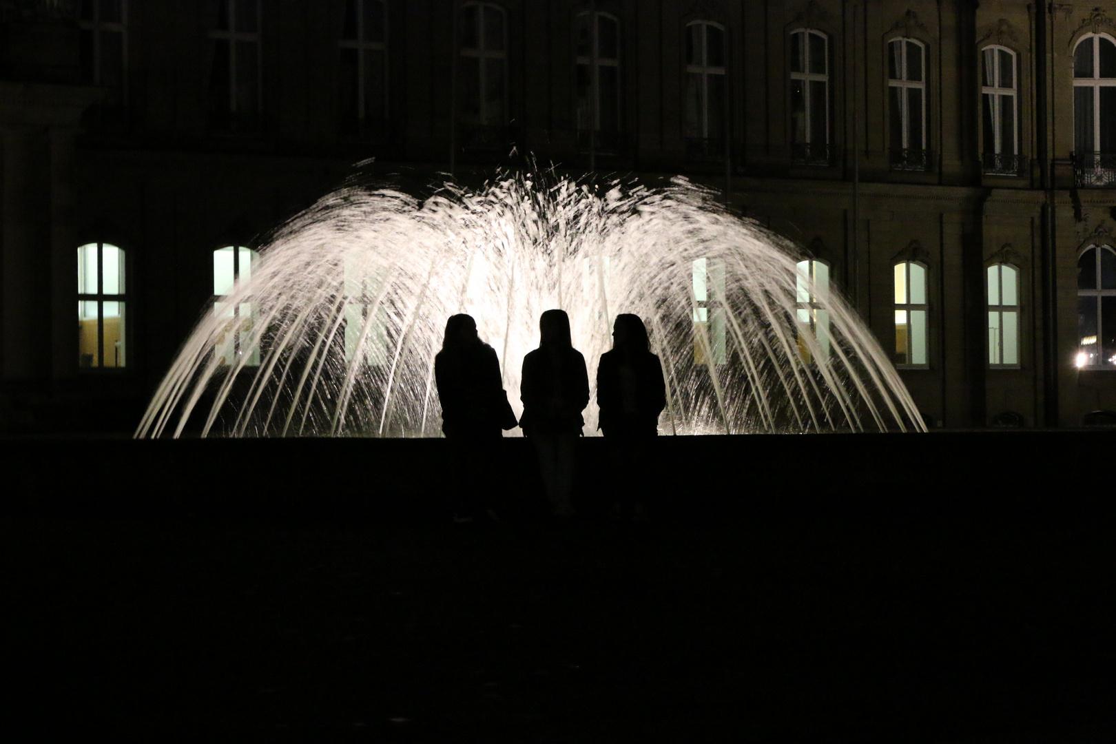 Die drei vom Brunnen