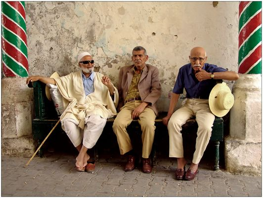 Die drei vom Hammam