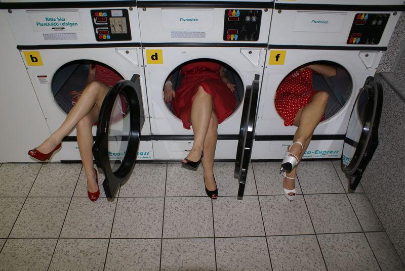 Die drei vom Waschsalon