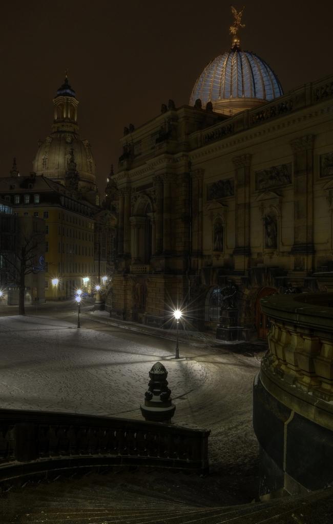 Die Dresden im Winter