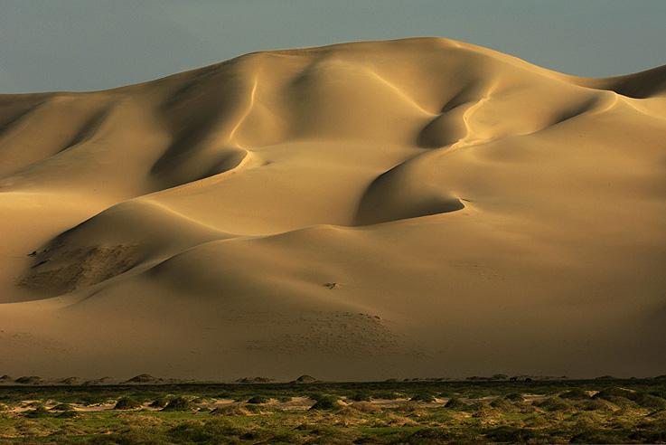 Die Dünen der Gobi