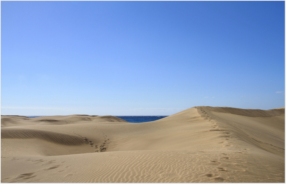 Die Dünen in Maspalomas
