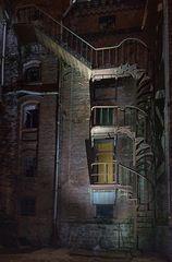Die dunkle Treppe...