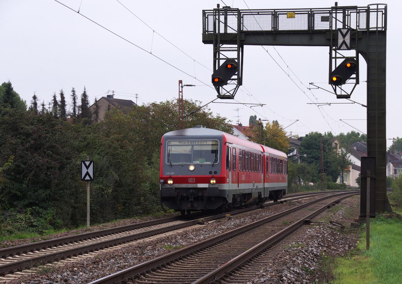 Die durchgehende Relation Saarbrücken Hbf - Niedaltdorf...
