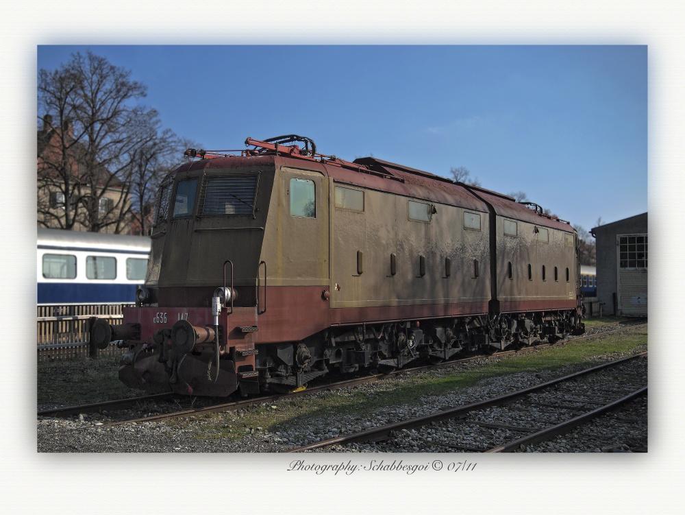 Die E 636 147 aus Italien