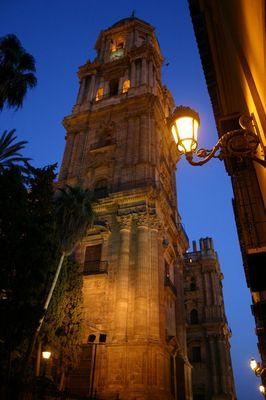 """Die """"einarmige"""" Kathedrale in Malaga/Spanien"""