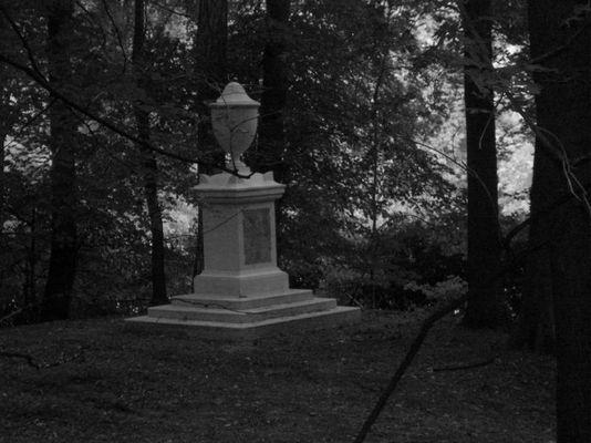 Die einsame Urne