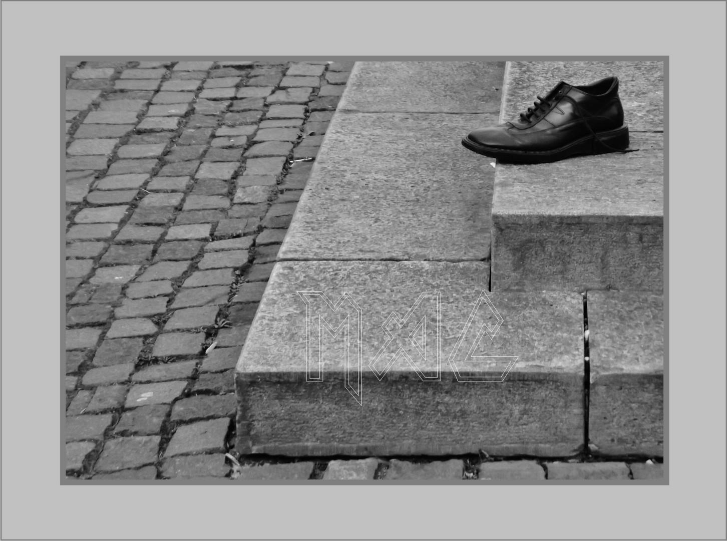 Die Einsamkeit des Schuhs