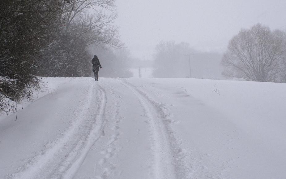 ... die Einsamkeit des Winter-Wanderers ...