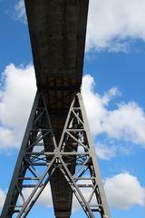 Die Eisenbahn-Hochbrücke von Rendsburg