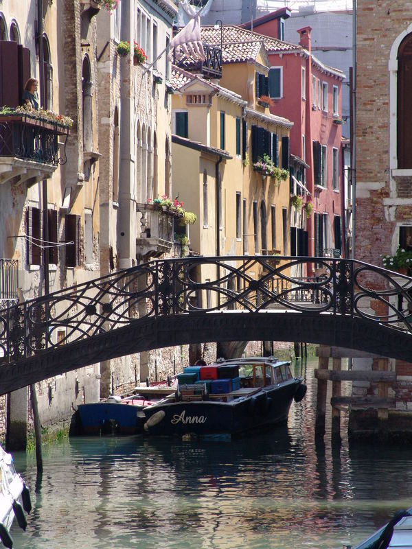 die eiserne Brücke
