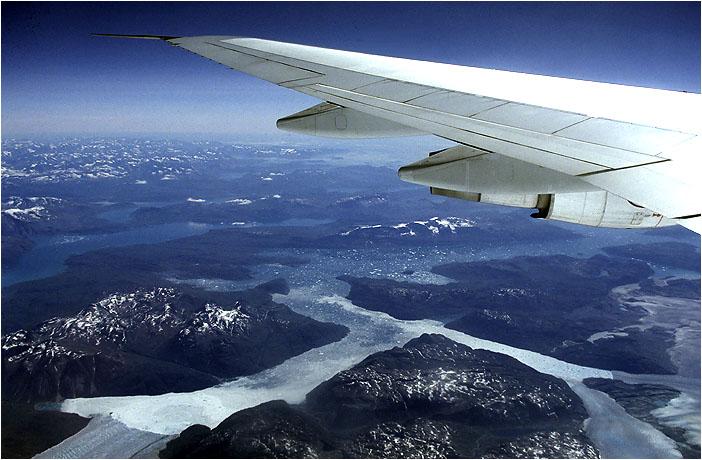 Die Eisströme Grönlands
