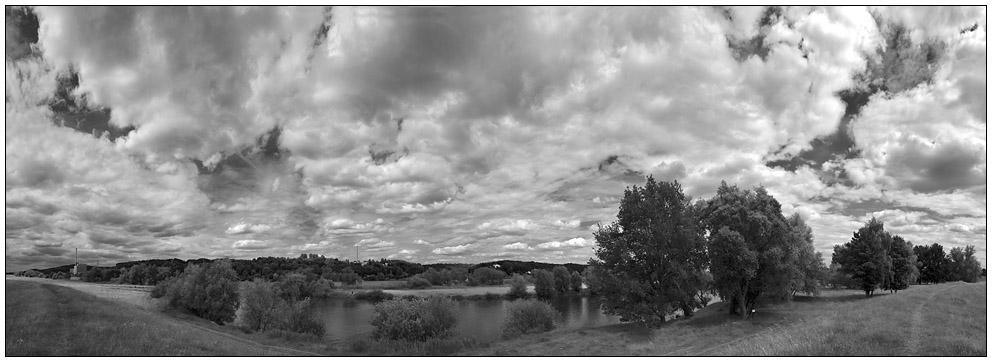 Die Elbe bei Krümmel