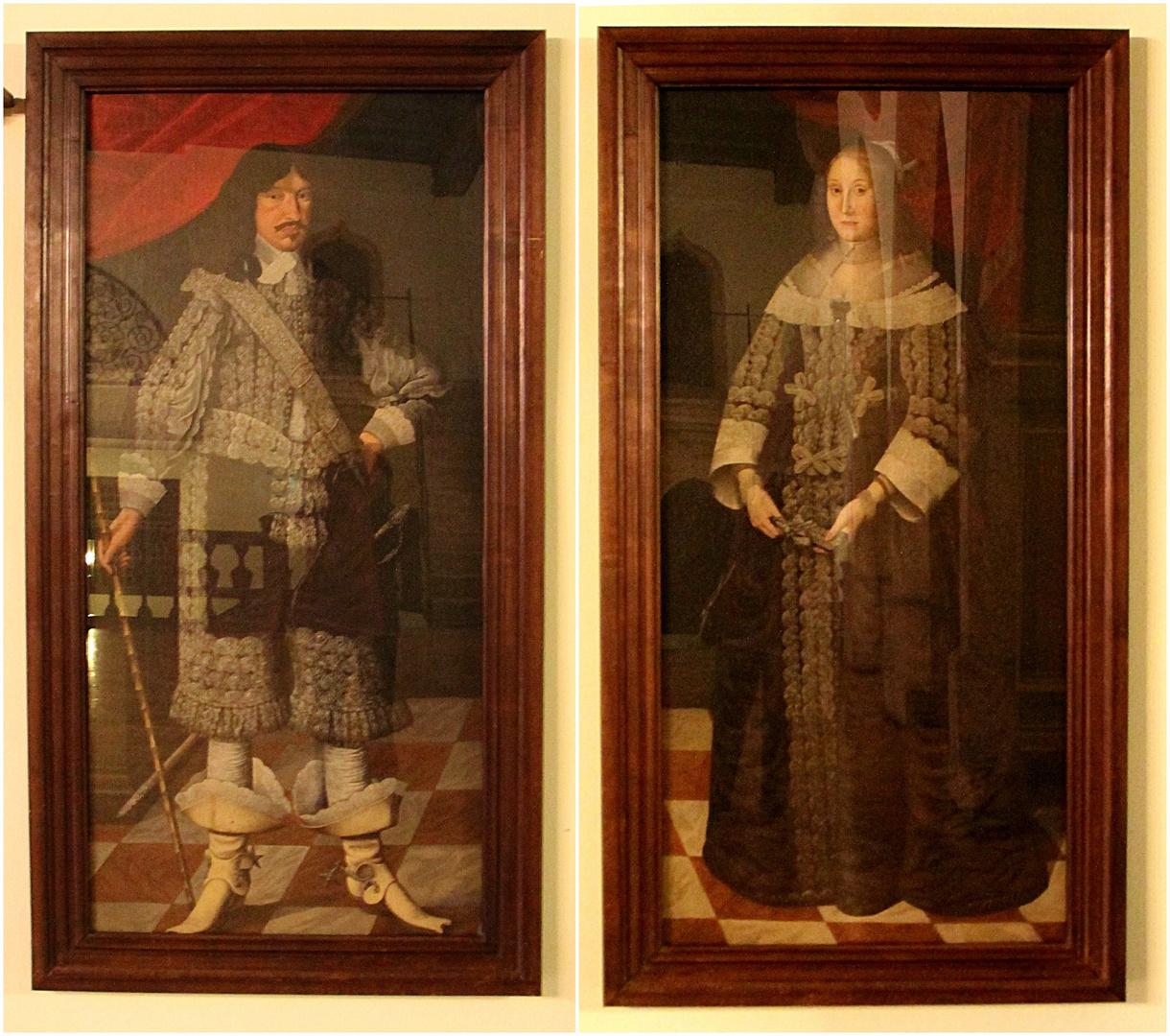 Die Eltern des Erbauers des Jenaer Stadtschlosses