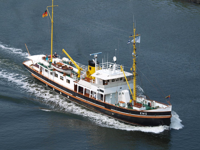 Die EMS auf dem Nord-Ostsee-Kanal