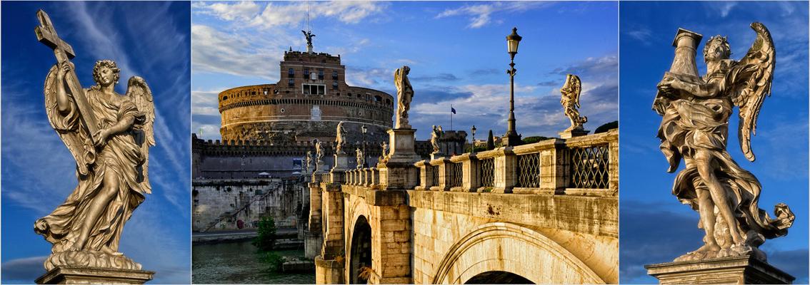 Die Engel der Engelsbrücke (Pont Sant' Angelo)