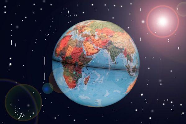 Die Erde....