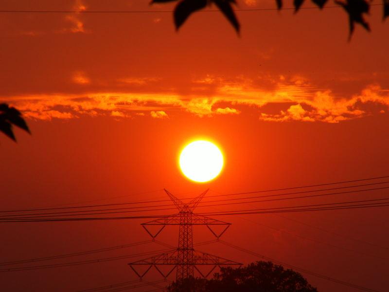 Die Erde glüht.....