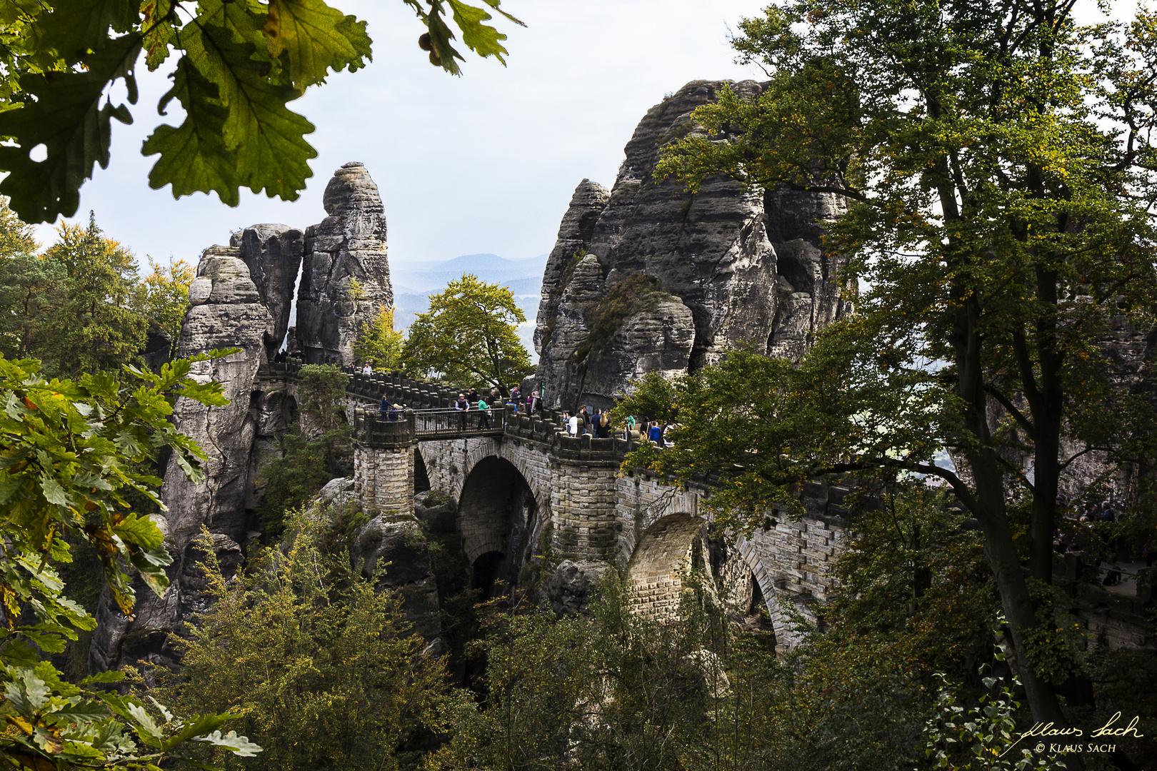Die erhabene Bastei ...