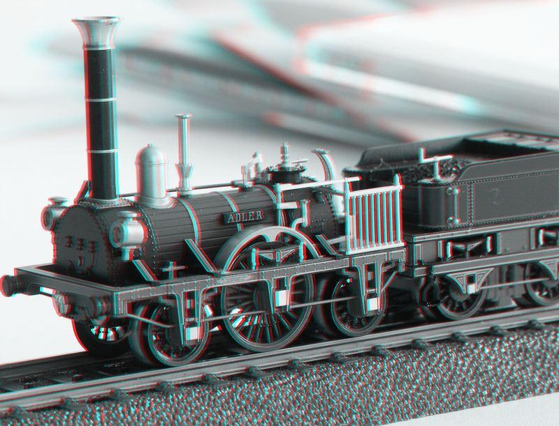 Die erste Eisenbahn Deutschlands - Der Adler