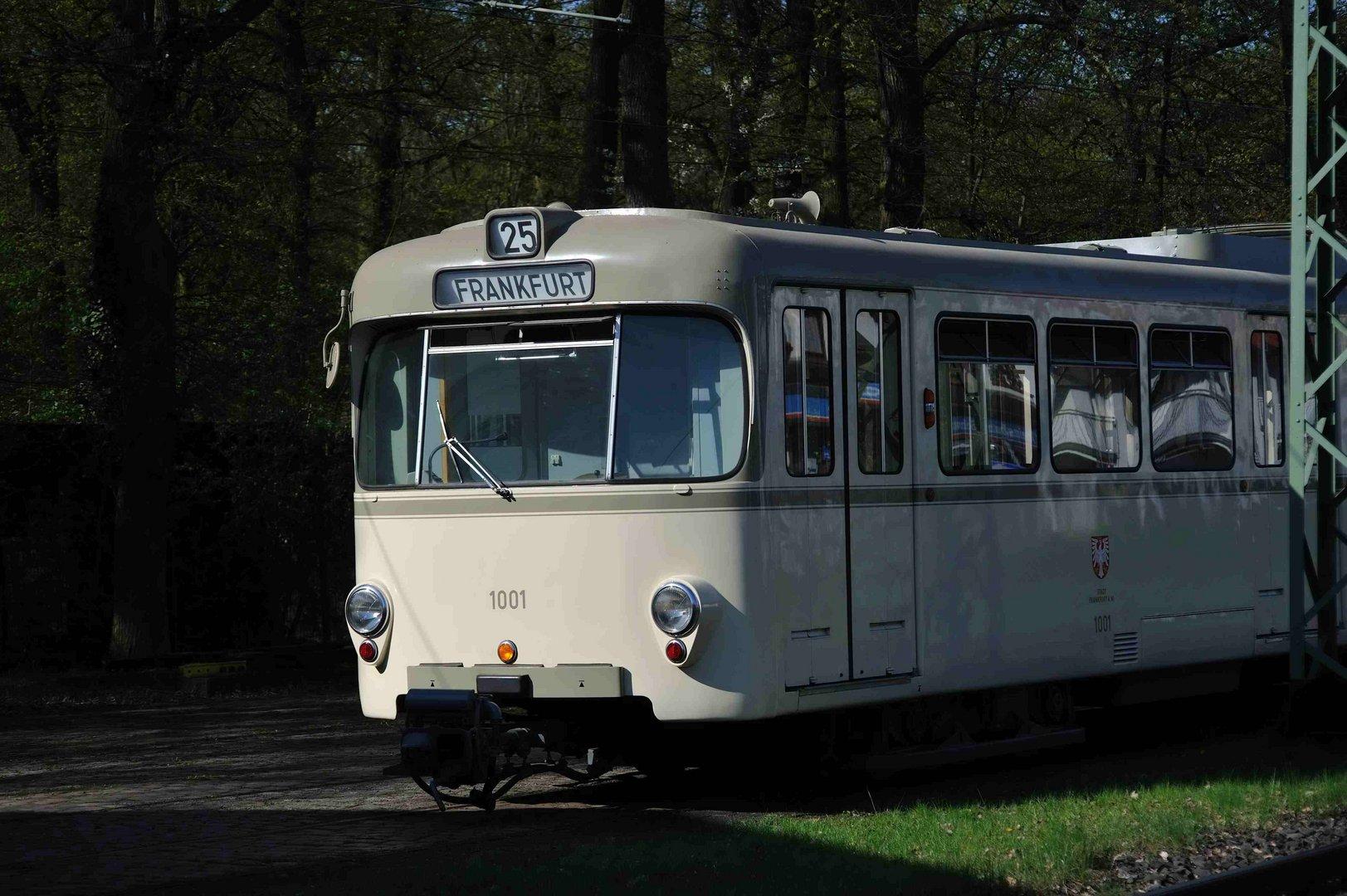 Die erste Frankfurter U- Bahn