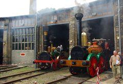 Die erste und die letzte hierzulande gebaute Dampflok