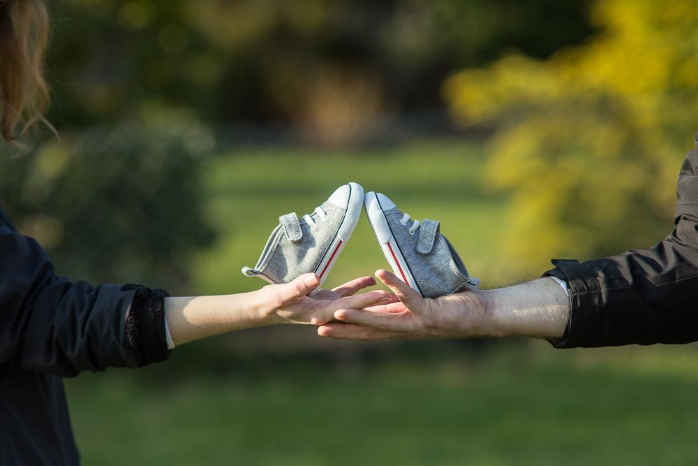 Die ersten Schuhe
