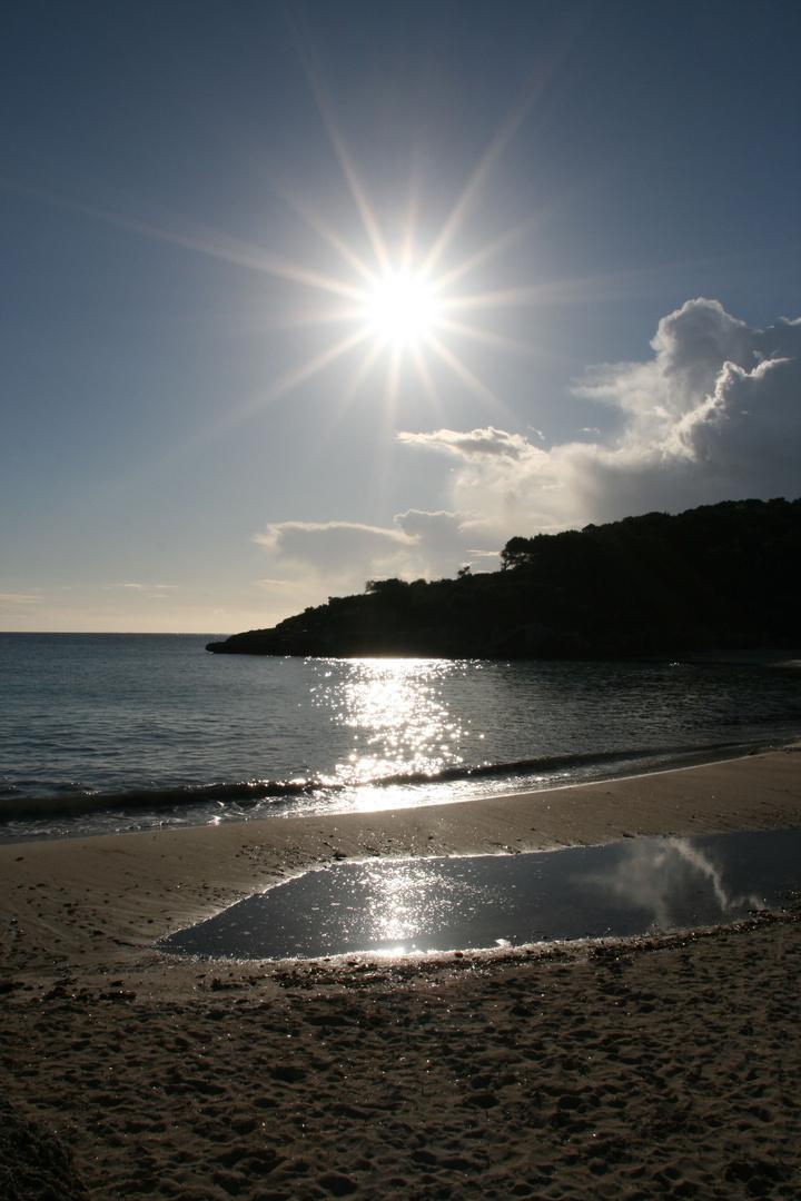 Die ersten Sonnenstrahlen im Jahr