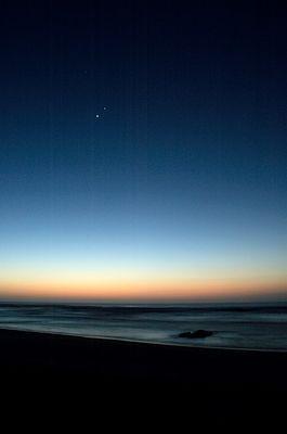 Die ersten Sterne über Namibia