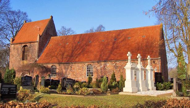 Die ev.-ref. Kirche in Großwolde
