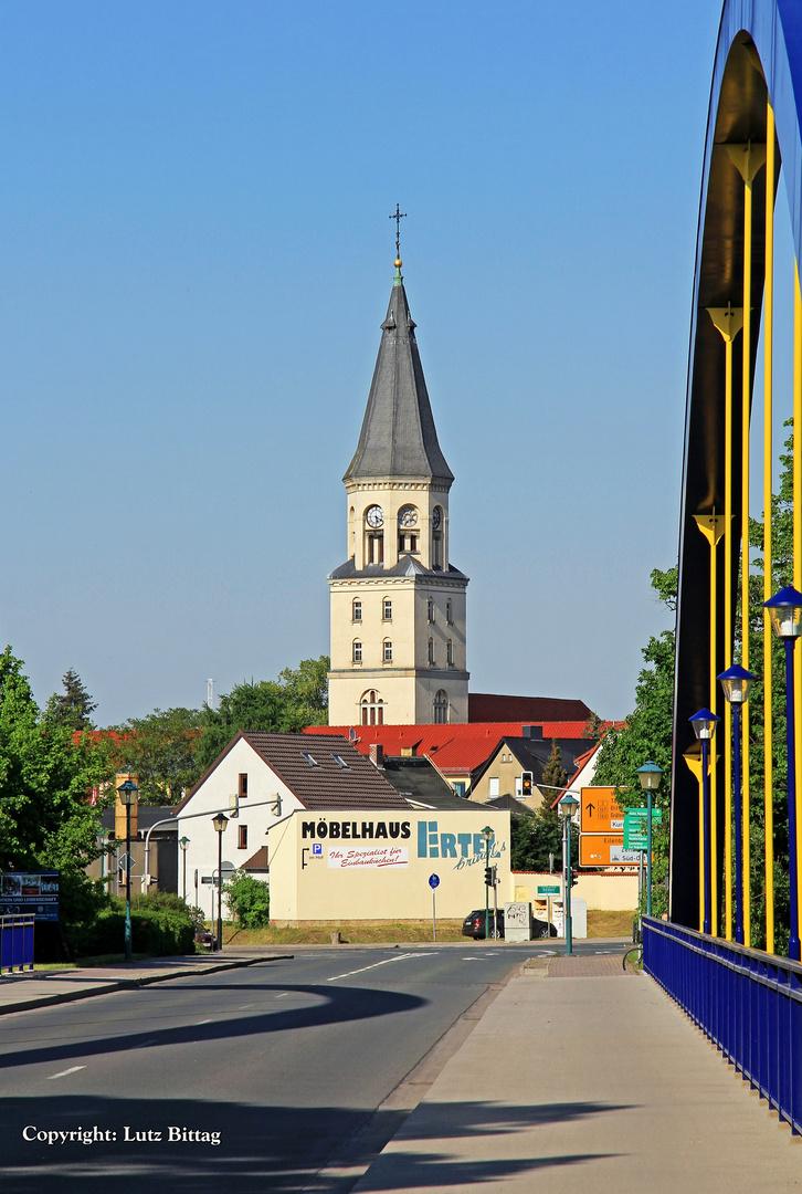 Die evangelische Stadtkirche von Bad Düben