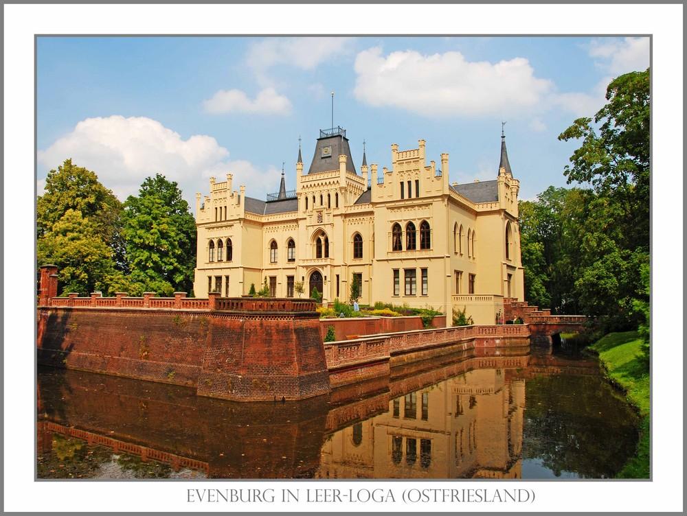 Die Evenburg in Leer-Loga (Ostfriesland)