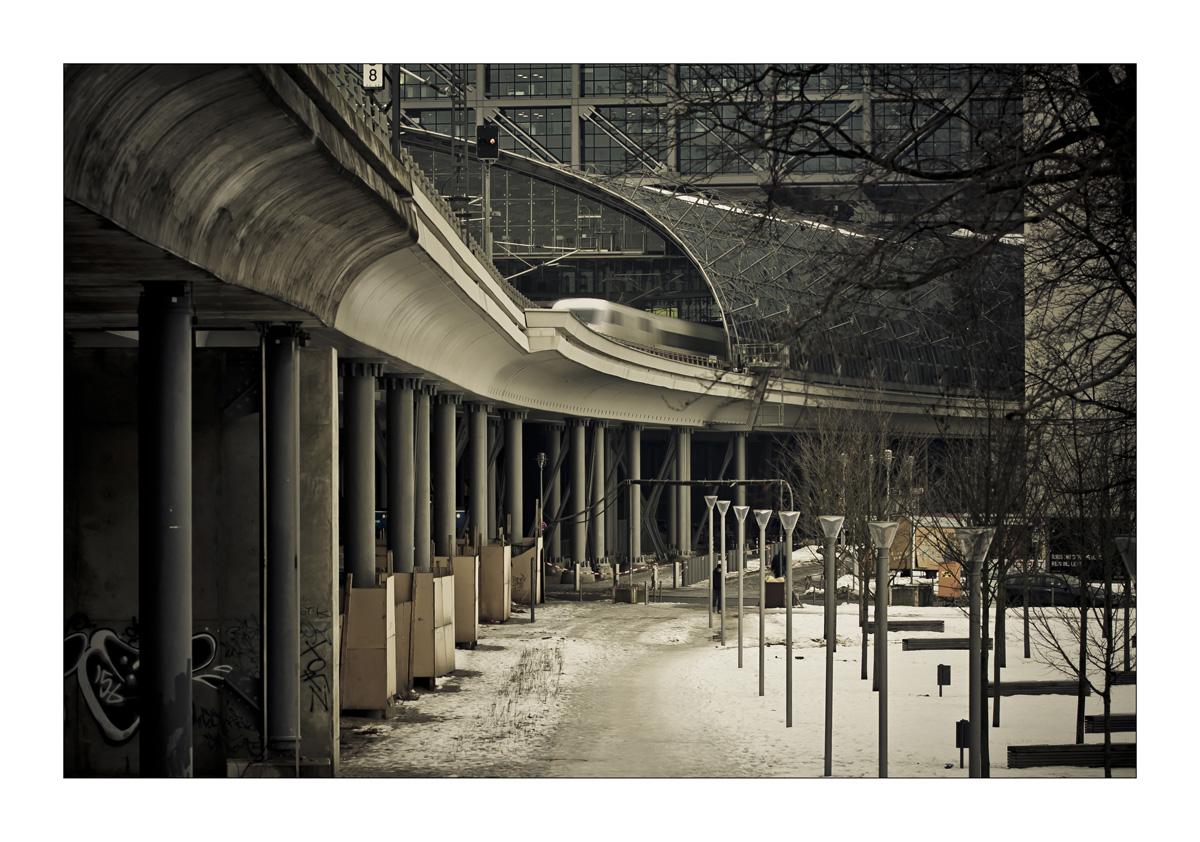 Die ewige Baustelle...HBF Berlin