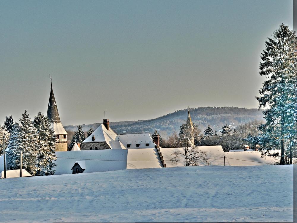 Die Eyneburg.Winter.HDR.
