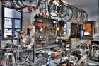 Die Fahrradwerkstatt meines Opas