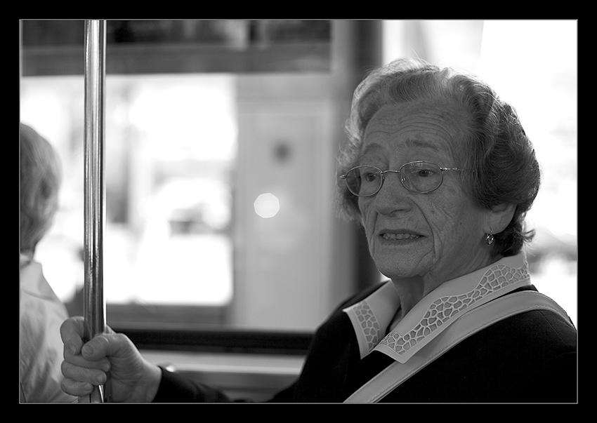 Die Fahrt der alten Dame